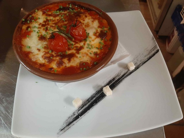 Pizzeria 45 - Casa Francesca Moussaka végétarienne